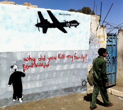 Graffiti in Jemen