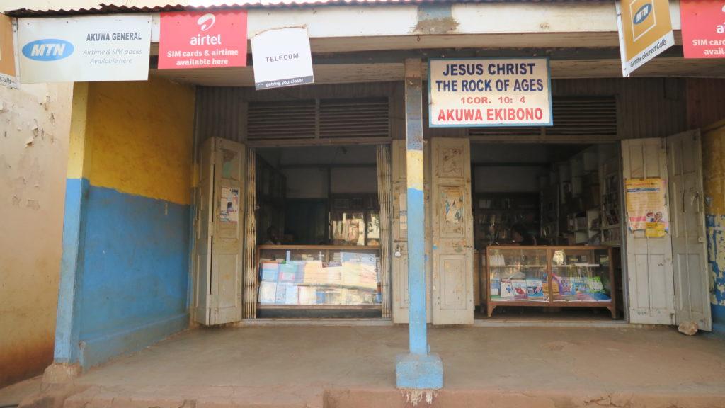 Shop in Jinja Town