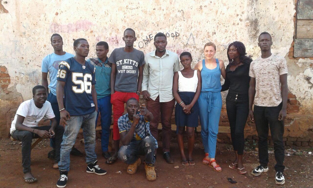 Focus group in Jinja Town